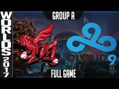 AHQ e-Sports Club vs Cloud 9 - S7 Worlds 2017 Day 2 Game 5