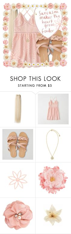 """""""sarcasm makes the heart grow fonder ღ"""" by blinkflowerchild ❤ liked on Polyvore featuring &K, Abercrombie & Fitch, American Eagle Outfitters, Versace, Forever 21 and Clips"""
