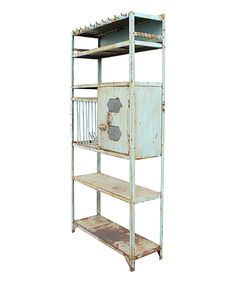 Look what I found on #zulily! Foam Blue Vintage Iron Rack by SmartWorld Manufacturing Group, Inc. #zulilyfinds