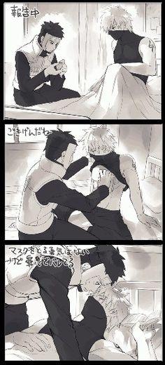 / Kakashi & Tenzo /