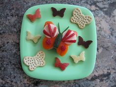 Butterfly Sandwich – Edible Crafts