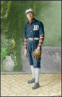 "Walter Johnson ""The Big Train"" (1907)."