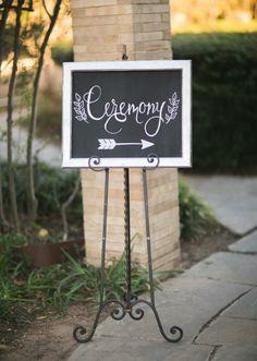Chalkboard wedding signage. Photo by Taylor Lord Photography. #wedding #chalkboard #sign