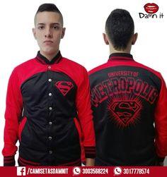 Hoodie Superboy - University of Metrópolis  Http://www.facebook.com/Camisetasdamnit