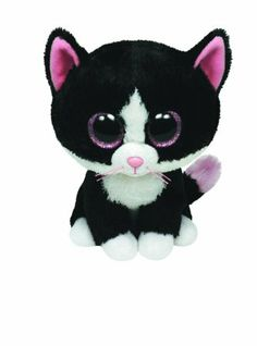 Amazon.com: Ty Beanie Boos - Pepper the Cat: Toys & Games