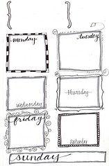 free weekly planner printable