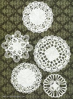 Lately I& been starting each day with half-an-hour of computer time. (I use a wonderful free desktop computer app called Alinof Timer to make sure that I stick to that half-an-hour.) One of the things that I do in my. Paper Punch Art, Paper Art, Paper Crafts, Doilies Crafts, Paper Doilies, Kirigami, Doily Art, Craft Punches, Card Making Techniques