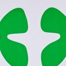 Green Print Graphic Cotton