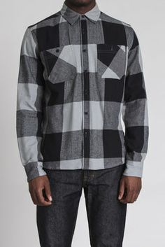 Brushed Flannel 2 Pkt L/S Shirt