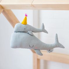 Our handmade mama and baby whale mobiles are making us feel all summery inside! ☀️☀️☀️ All the way from the south of France, these are the perfect little treasures for your kids room or nursery  Whales, flamingos and swan available now, link in profile. #whalemobile #kidsinteriors #kidsdecor #nurserydecor #nurseryinspo #forlittletreasures #lovebobbyrabbit