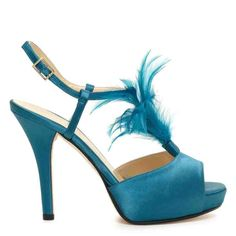 Kate Spade Blue Wedding Shoes - Wedding and Bridal Inspiration Blue Wedding Shoes, Bridal Shoes, Crazy Shoes, Me Too Shoes, Sock Shoes, Shoe Boots, Women's Shoes, Peacock Shoes, Kate Spade Bridal