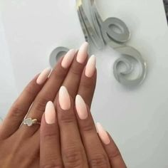 Nail art Christmas - the festive spirit on the nails. Over 70 creative ideas and tutorials - My Nails Nude Nails, Matte Nails, Peach Nails, Acrylic Nails, Hair And Nails, My Nails, Soft Nails, Indigo Nails, Modern Nails