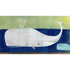 thinking my next painting will b something whale