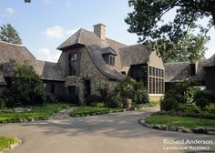 Richard Anderson :: Landscape Architect :: Portfolio What is Art ? To answer the question Life Design, House Design, Tudor Style, Stone Houses, Country Estate, Beautiful Architecture, The Ranch, Residential Architecture, Decoration