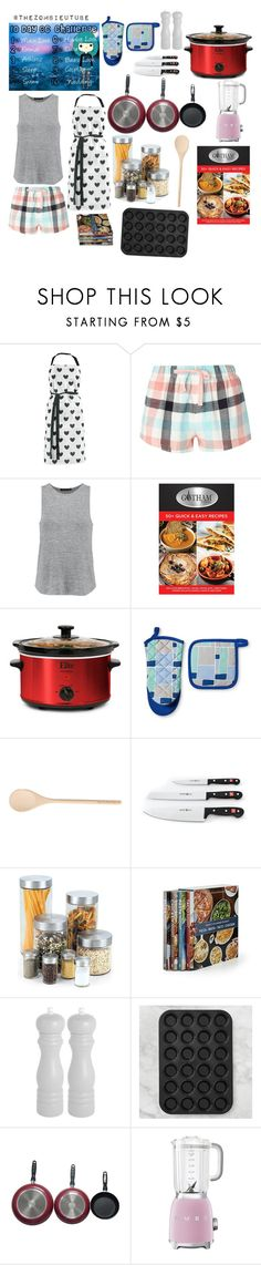 """""""Chelsea Wilson: Day 6, Hobby ♡"""" by arclyn ❤ liked on Polyvore featuring Miss Étoile, Dorothy Perkins, rag & bone, Improvements, Room Essentials, Cook N Home, Williams-Sonoma and Smeg"""