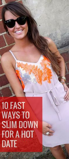 how to lose weight fast to fit a dress