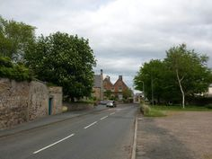 Main Street, Lowick @BlackBullLowick forecourt