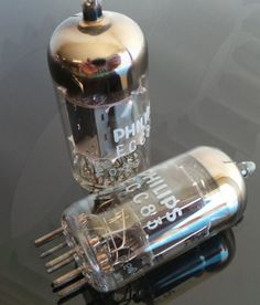 Valvola ECC83 Philips- Radio Frequency, Ham Radio, Barware, Perfume Bottles, Perfume Bottle, Tumbler