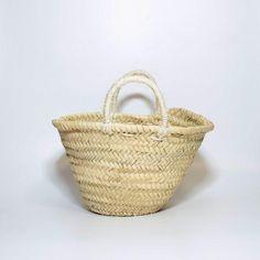 63acdef4ed Small Straw basket Moroccan Handmade Bag