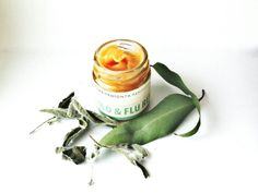 Cold and Flu Salve. Herbal Salve. Cold rub. by TheBEEKEEPERshop