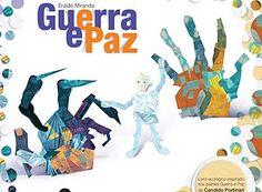 Livro tem páginas de plástico e colagens inspiradas em Portinari