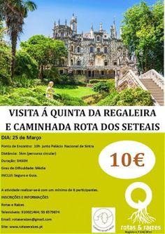 Rotas e Raizes: Visita Quinta da Regaleira+Rota dos Seteias- Sintr...