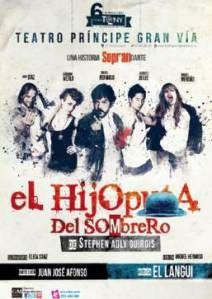 "Cartel de ""El hijoputa del sombrero"" #teatro #elhijoputadelsombrero"