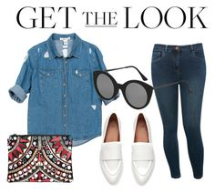 """""""Look under 150$"""" by imanko on Polyvore featuring mode, Sans Souci, M&Co, Boohoo et Topshop"""