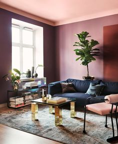 Today, the Home & Decoration brings you the Top 10 Color Trends That Will Dominate Interior Design World. These Color Palette, which brings back, with a new Decoration Inspiration, Room Inspiration, Interior Inspiration, Sunday Inspiration, Decor Ideas, Decor Room, Living Room Decor, Living Spaces, Mauve Living Room