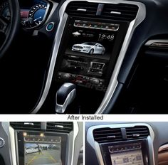 Tesla-style Vertical Screen Android Navigation Radio for Ford Fusion Mondeo 2013 2014 2015 Vw Corrado, Car Ford, Ford Trucks, Ford Fusion Accessories, Ford Fusion Custom, Interior Paint Sprayer, Android Navigation, Android Radio, 2013 Ford Fusion