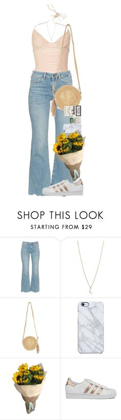 """""""God does not play dice with the universe."""" by quiche ❤ liked on Polyvore featuring M.i.h Jeans, Minor Obsessions, Nasty Gal, Uncommon and adidas"""