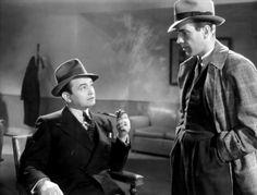 Edward G. Robinson and Humphrey Bogart in Bullets or Ballots...