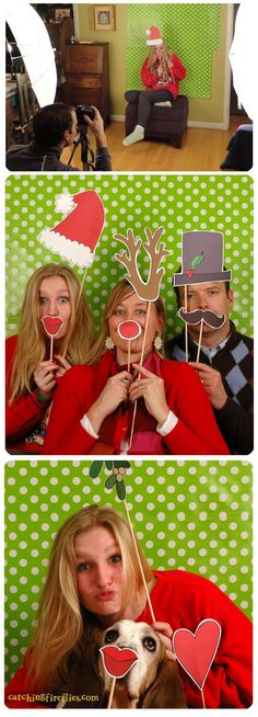 cute-christmas-photo-booth-props. Could Shannon use any of these ideas for Christmas cards?  Maybe with Wink emojis or emoticon