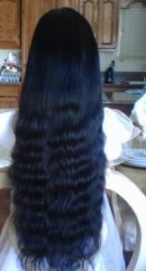 100% Indian Remy Premium Beautiful Body Wave Full Lace Wig 28-30 inches For Sale