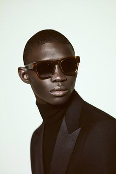 Fernando Cabral fronts the Spring/Summer 2014 Eyewear campaign of A. Sauvage, captured by the lens of Adrien Sauvage.
