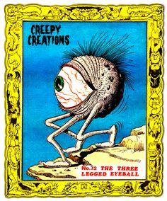 Creepy Creations No.72 - The Three Legged Eyeball