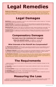 Legal Remedies page 1 - Remedies Big Picture - Bar Exam Study Materials