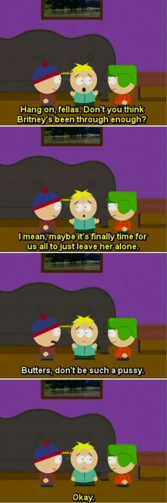 South Park = the best show that ever was