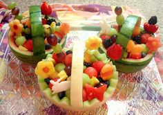 Easter Fruit Baskets (Explored!) by Laura Bento, via Flickr