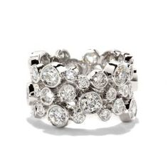 Hearts On Fire Effervescence Right Hand Ring