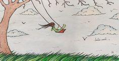 Sentirse viento: ...mis pies acariciaban el suelo, invitándolo a acompañarme en mi viaje;  el viento acariciaba mi rostro, invitándome a nunca detener mi viaje...