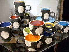 Milani Home mugs, Mona Collection