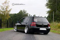 Black VW Golf MK4