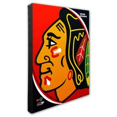 "Chicago Blackhawks 16"" x 20"" Pop Art Photo - $79.99"
