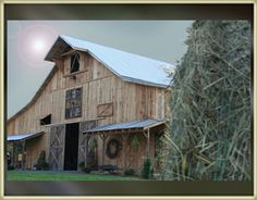 A Rustic Barn Rental Venue for your Wedding or Party, Indoors or Outdoor located in the Tri-Cities Johnson City Bristol Kingsport Jonesborough Limestone TN Tennessee Country Barns, Old Barns, Rustic Barn, Modern Rustic, Barn Wedding Venue, Barn Weddings, Best Barns, Johnson City, Mountain Modern