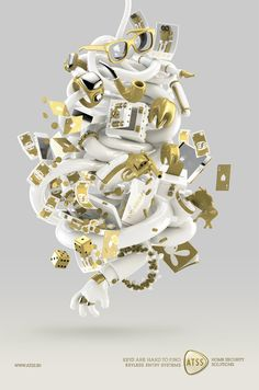 atss - keys are hard to find by denzil machado, via Behance