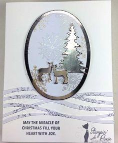 Swirly Snowflakes thinlits Stampin' Up!, Carols of Christmas