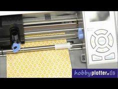 """Hobbyplotter.de stellt den neuen und aktuellen 30 cm oder 12"""" Hobbyplotter Silhouette Cameo vor. Mehr dazu auf http://hobbyplotter.de"""