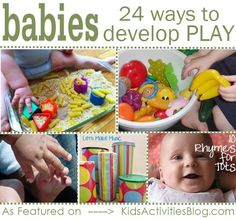 Activities for babies: 24 ways to play with