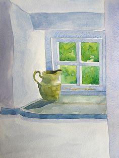Jug in the window